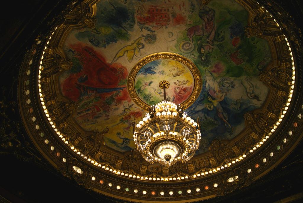 Nádherný Chagallův strop