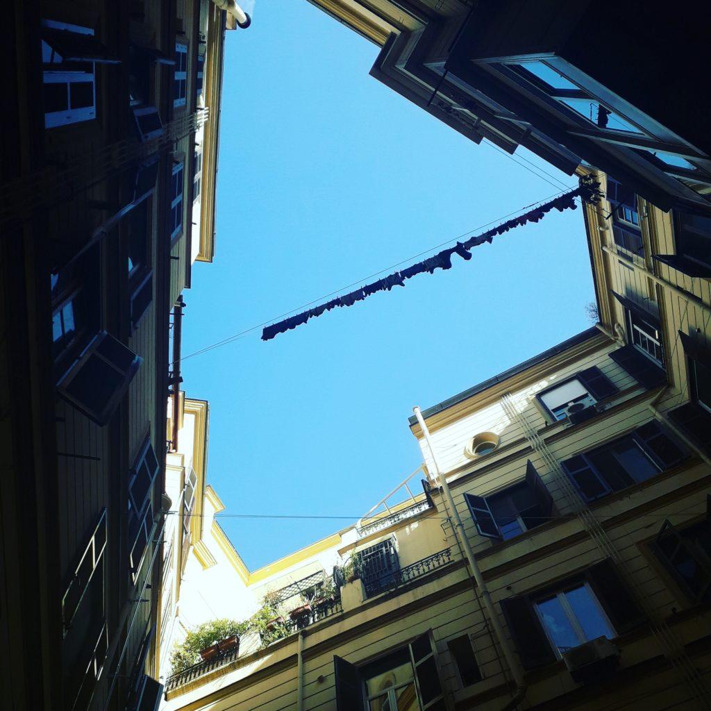 Neapolský dům vnitroblok